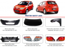 PROTON SAVVY Bodypart 2005 – 2010 SPECIAL OFFER 2018
