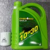 ENDURO LUBRICANT ENGINE OIL SAE 10W30 SL/CF 4L