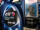 Proton Savvy Elf Evolution 700 FT 10W-40 4L Semi Synthetic Engine Oil Package