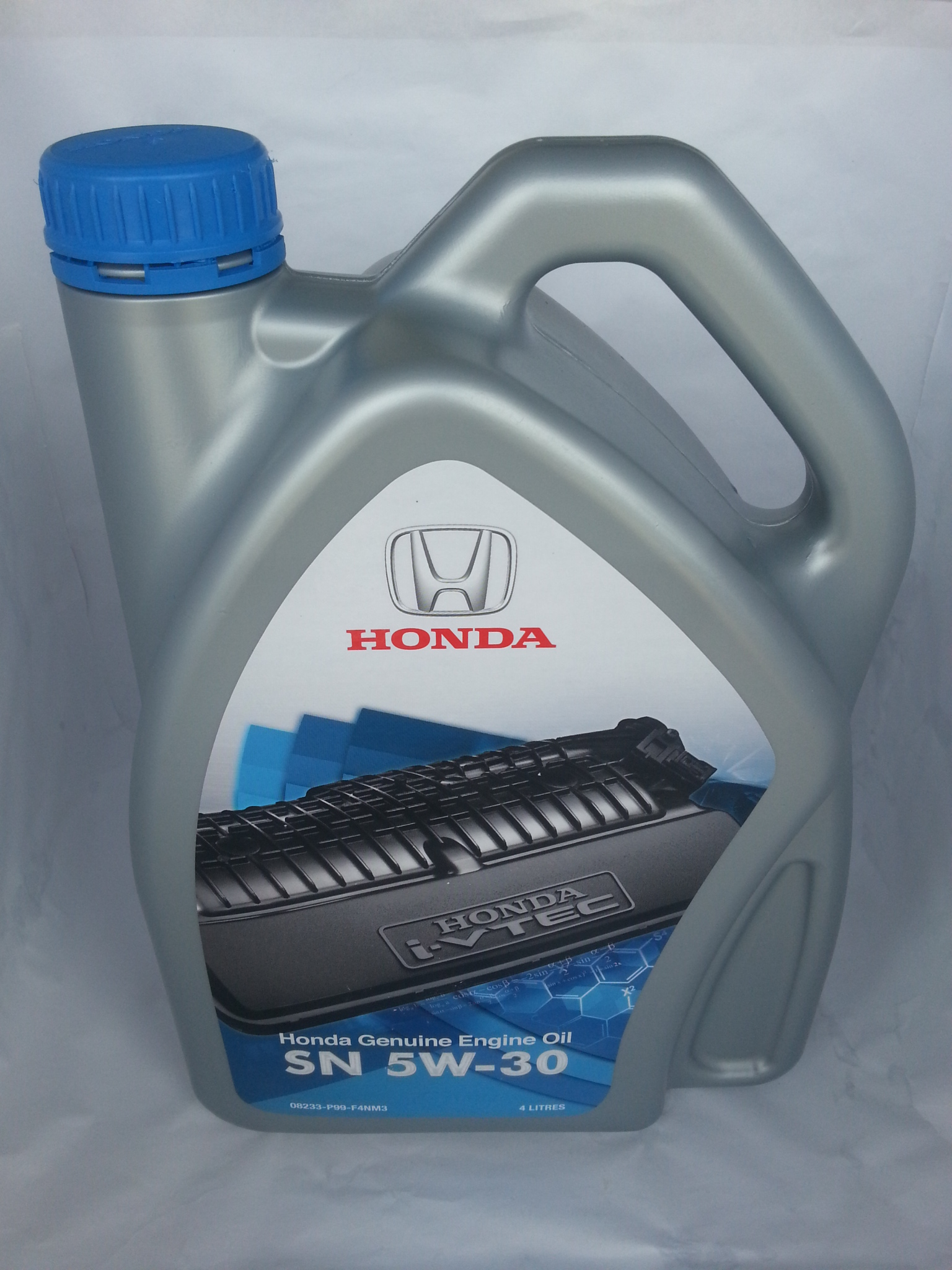 Honda Engine Oil Sn 5w 30 Semi Synthetic 4 Liter