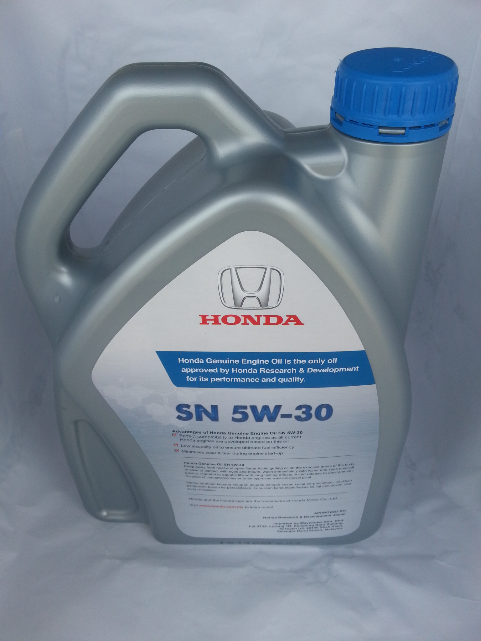 Honda Engine Oil Sn 5w