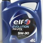 ELF Evolution 700 FTX 5W30 4L Semi Synthetic Engine Oil