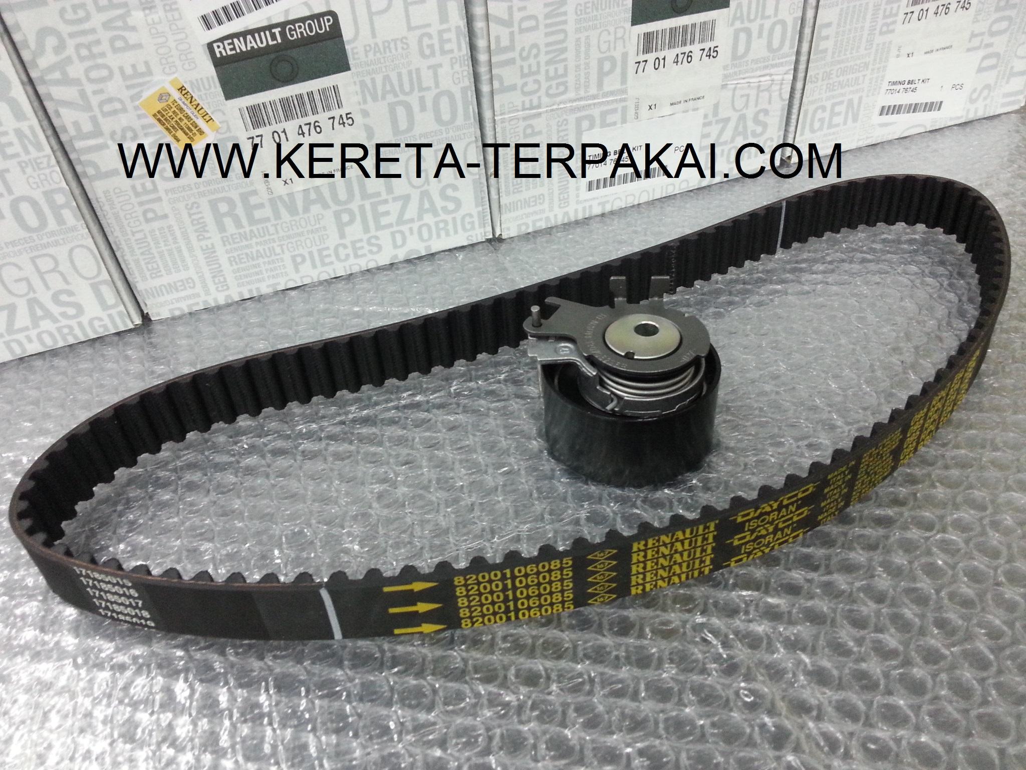 Proton Savvy Timing Belt Kit Original Renault 1 2