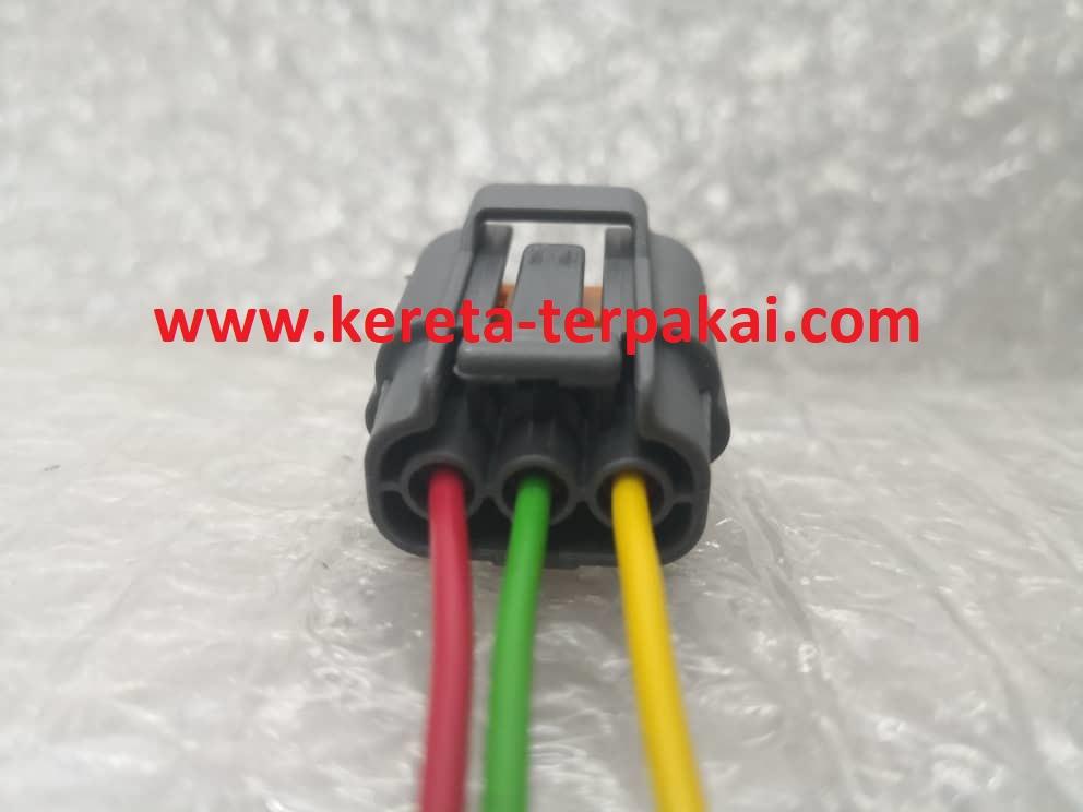 mazda rx8 rx7 ignition coil plug socket connector 3 pin. Black Bedroom Furniture Sets. Home Design Ideas